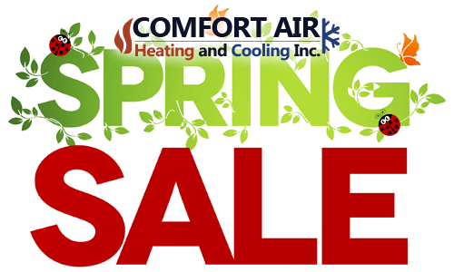 Spring Sales Comfort Air Ontario Inc