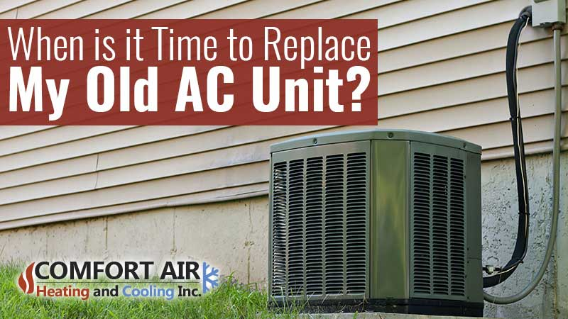 When to replace AC unit